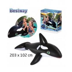 """Φουσκωτό Θαλάσσης Φάλαινα"""" Whale Ride - On """" Bestway 41009"""