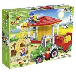 BANBAO Τουβλάκια φάρμα 448 κομμάτια